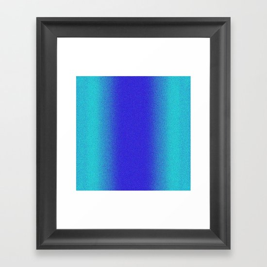 Re-Created Interference ONE No. 14 by Robert S. Lee Framed Art Print