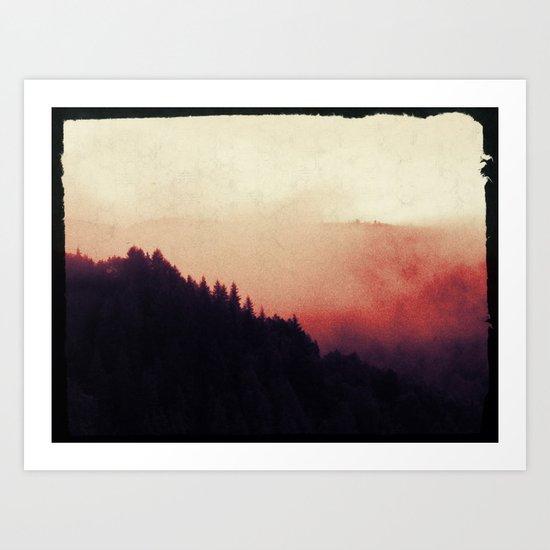 Mystical Fog Art Print