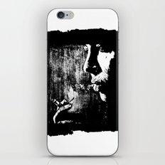 SMOKE - black version iPhone & iPod Skin