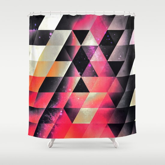 fyrlyrne fyyrth Shower Curtain