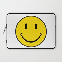 Smiley Happy Face Laptop Sleeve