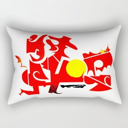 Sunday Tuck No. 2 Rectangular Pillow