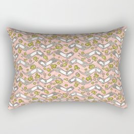 Swimming Otter Girls Rectangular Pillow