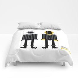 Pixel Daft Punk Comforters