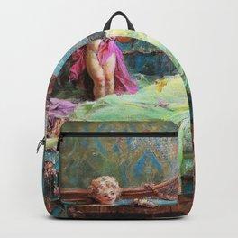 Message Of Love - Hans Zatzka Backpack