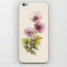 Geranium & Gardenmint iPhone & iPod Skin
