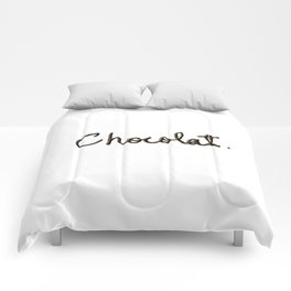 Chocolat Comforters