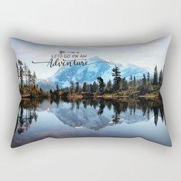 Mt Shuksan-adventure Rectangular Pillow