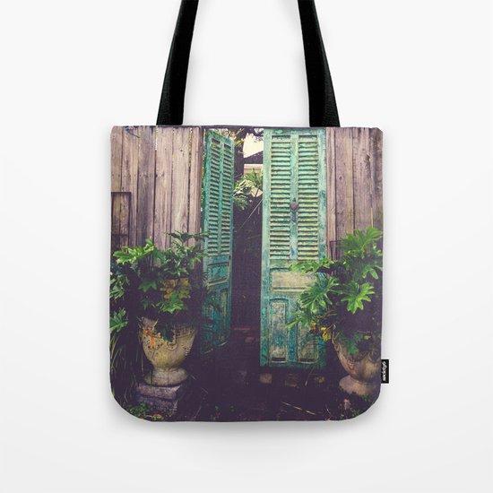 Saint Augustine Garden Tote Bag