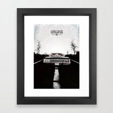 Supernatural  Framed Art Print