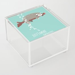 Sloth card - just 5 more minutes Acrylic Box