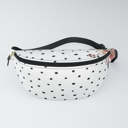 Boho Flowers and Polka Dots Fanny Pack