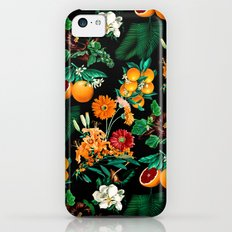 Fruit and Floral Pattern Slim Case iPhone 5c