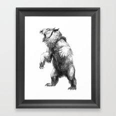 Owlbear Framed Art Print