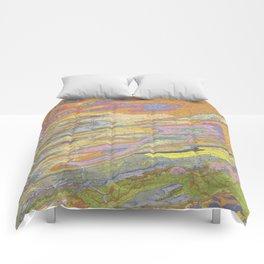 Eastern Pennsylvania (PA) Topo.luv Comforters