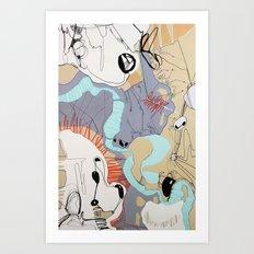 Ramada Art Print