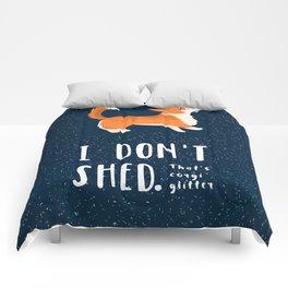 Corgi Glitter - Pembroke Welsh Corgi Comforters
