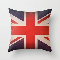 OLD UNITED KINGDOM FLAG Throw Pillow
