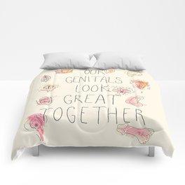 Happy Genitals Comforters