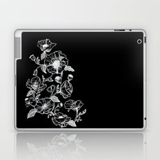 Black Poppies Laptop & iPad Skin