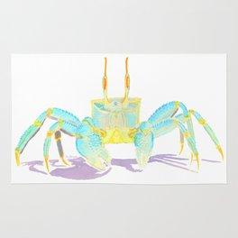 Turquoise Crab Rug