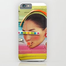 What are the birdies saying? | Collage iPhone 6s Slim Case