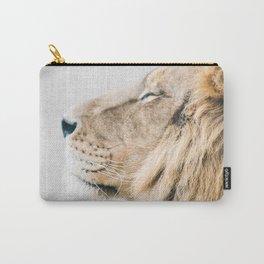 Lion Portrait - Colorful Carry-All Pouch