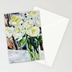 Roses Blanches Stationery Cards