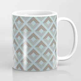 Two-toned square pattern Coffee Mug