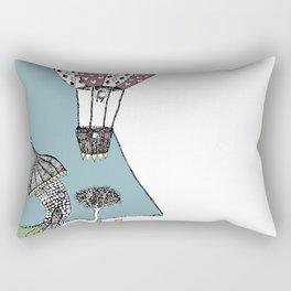 A Balloon Adventure Rectangular Pillow
