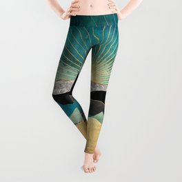 Peacock Vista Leggings