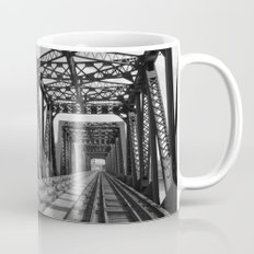 Train Bridge 3 - B&W Mug