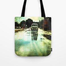 on a Dutch rainy day Tote Bag