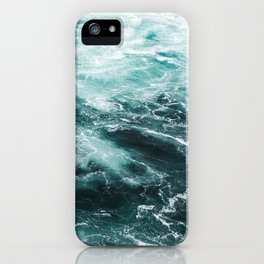 Water Photography | Sea | Ocean | Pattern | Abstract | Digital | Turquoise iPhone Case