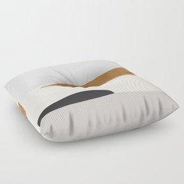 Minimal Art Landscape 2 Floor Pillow