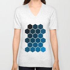 Geometric Abstraction II Unisex V-Neck