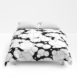 Black and White Pop 2 Comforters
