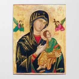 Our Mother of Perpetual Help Virgin Mary Poster