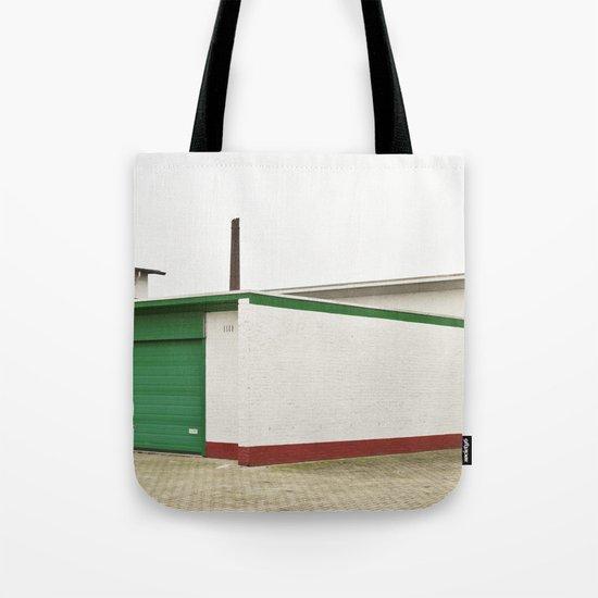 green architecture Tote Bag