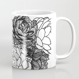 Succulent Study  Coffee Mug