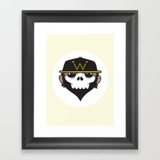 A Wicked Gentleman Framed Art Print