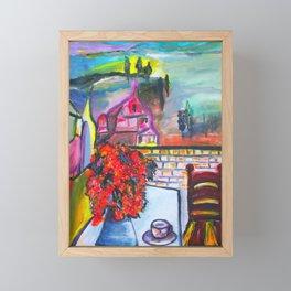 Room With A View  #society6 #decor #buyart Framed Mini Art Print