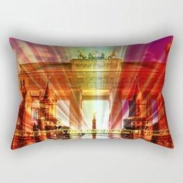 Berlin Collage Rectangular Pillow