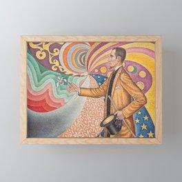 Portrait of Félix Fénéon Framed Mini Art Print