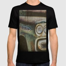 Chevy Apache X-LARGE Mens Fitted Tee Black