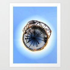 Polar Eye Art Print