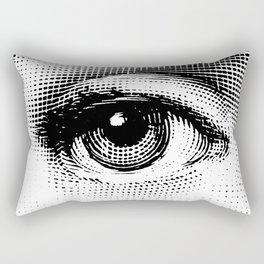 Lina Cavalieri Eye 02 Rectangular Pillow