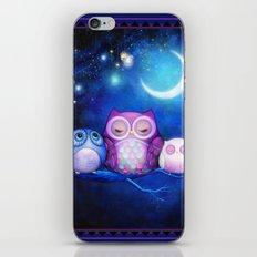 Night Owls & Fairy Lanterns iPhone & iPod Skin