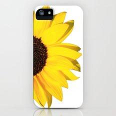 yellow & white summer Slim Case iPhone (5, 5s)