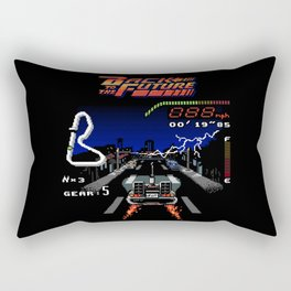 Back to the Videogame Rectangular Pillow